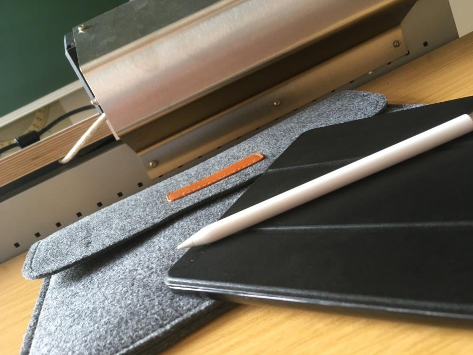 iPad mit Apple Pencil in der Uni
