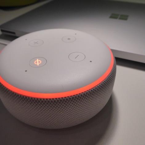Amazon Echo Dot 3 stumm