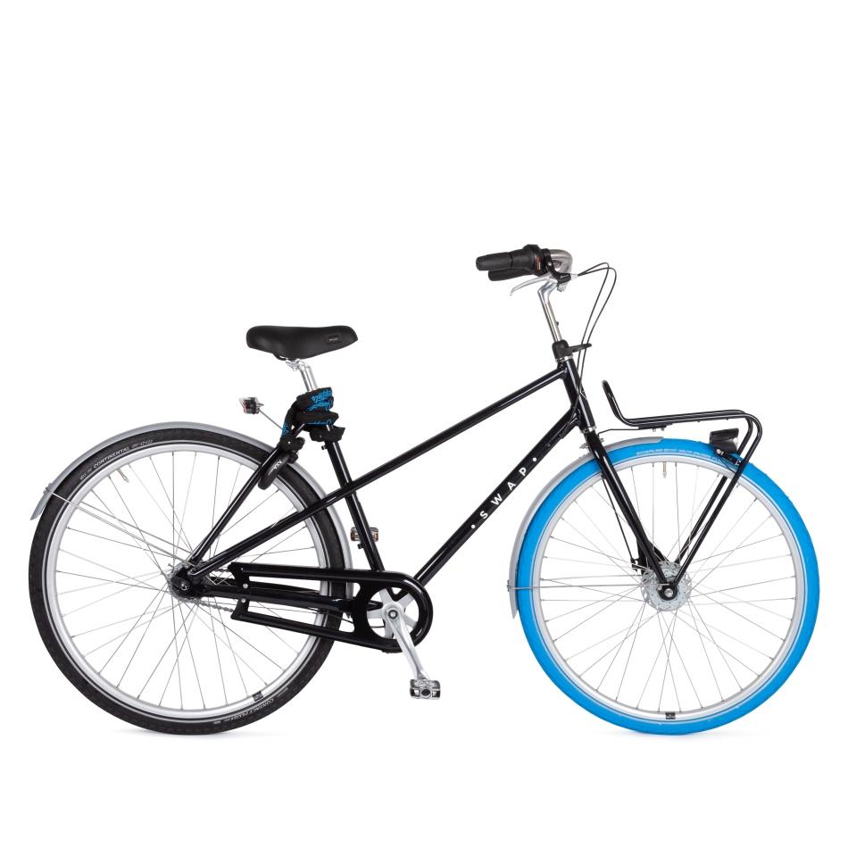 Swapfiets Deluxe 7 - Panther Black Fahrrad Test